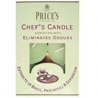 Price's Candles Chefs Tealights - Pack 10